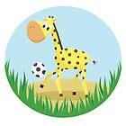 Giraffe by EmilyListon4
