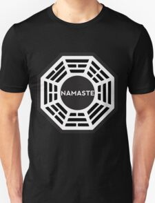 NAMASTE  - Dharma logo T-Shirt
