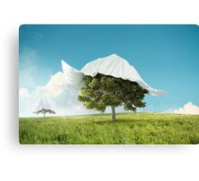 Rediscover the nature Canvas Print