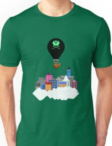 Retro Cloud City Unisex T-Shirt