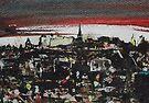 Abstract Edinburgh by Ross Macintyre