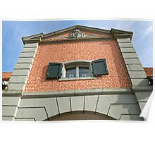 Haus Meer, Meerbusch, NRW, Germany. Poster