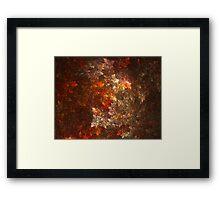 Autumn Presages Framed Print