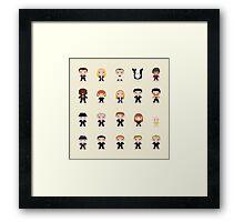 Little Fringe  Framed Print