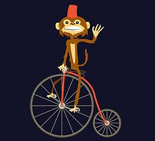 the Monkey and the bicycle  by Marco D. Carrillo
