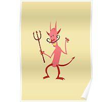 Devil Diablo Poster