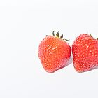 Strawberrys by Michael Hollinshead