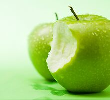 Green Apples 2 by photolcu