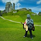 Corfe Castle - little soldier by Sally Barnett