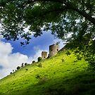 Corfe Castle 2 by Sally Barnett