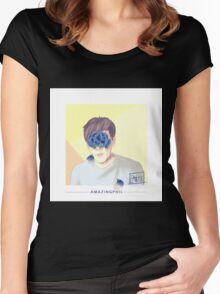 AmazingPhil - Wild Inspired Women's Fitted Scoop T-Shirt