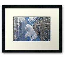 """Transparent movement of the soul ...."" Framed Print"