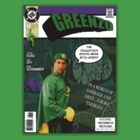 Greenzo Comic Book Cover by wizardvictor