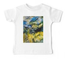 Designs Inspired By Nature: Blue Tit Baby Tee