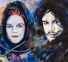 Ygritte, Jon Snow by Slaveika Aladjova
