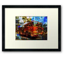Engine 181 Framed Print