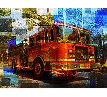 Engine 181 Photographic Print