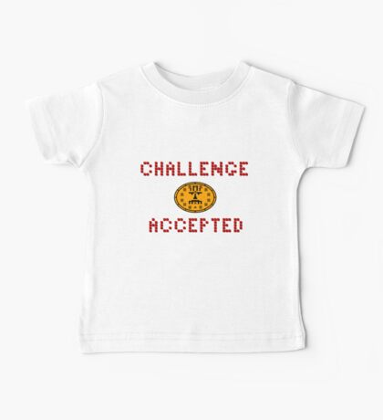 Challenge Accepted Baby Tee