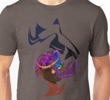 A stargazer of her own Unisex T-Shirt