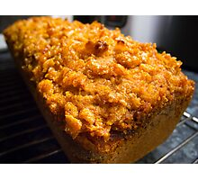 Marmalade Spice Cake Photographic Print