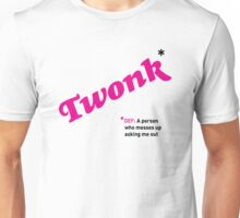 Date T Shirt - Twonk with black definition Unisex T-Shirt