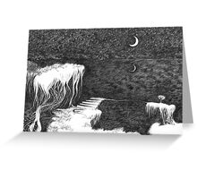Dark Night Inner Light Greeting Card