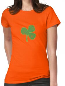 Vintage Clover St Patricks Day Womens Fitted T-Shirt