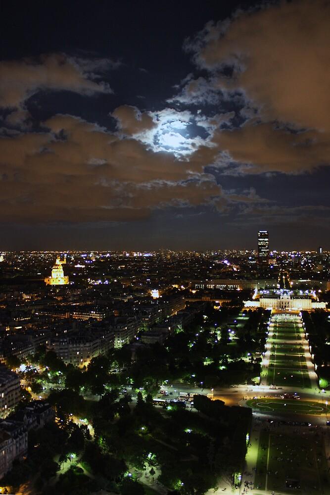 Le Paris. Eiffel Tower View by Emily Horton