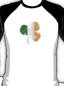 Vintage Irish Flag Clover St Patricks Day T-Shirt