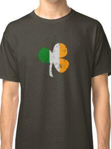 Vintage Irish Flag Clover St Patricks Day Classic T-Shirt
