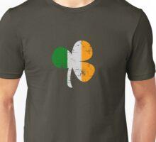 Vintage Irish Flag Clover St Patricks Day Unisex T-Shirt