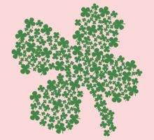 Clover Made Of Clovers St Patricks Day Kids Clothes