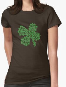 Clover Made Of Clovers St Patricks Day Womens Fitted T-Shirt