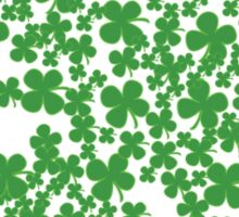Clover Made Of Clovers St Patricks Day Sticker