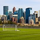 Calgary Downtown Soccer by Angelo Narciso