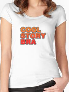 Cool Story Bra Women's Fitted Scoop T-Shirt