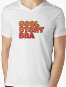 Cool Story Bra Mens V-Neck T-Shirt