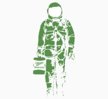 Astronaut - Green by Sieell