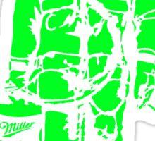 Astronaut - Green Sticker