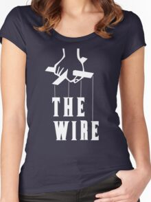 The Wire Women's Fitted Scoop T-Shirt