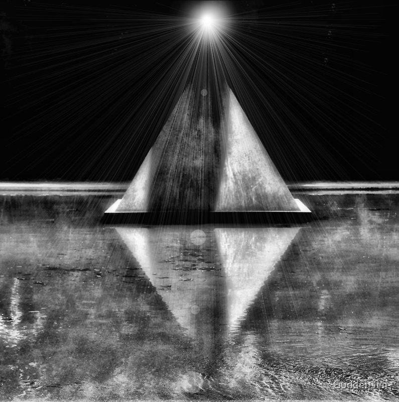 Serenity in Black and White by SuddenJim