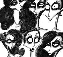 Alyssa's Faces by missdaytripper
