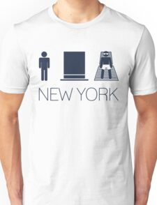 Man hat tan Tee - New York Yankee Blue Lettering Unisex T-Shirt