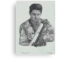Tom Cruise in Oblivion Canvas Print