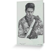 Tom Cruise in Oblivion Greeting Card