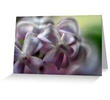 Lilac Cross Greeting Card