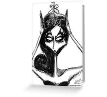 Queen Alyssa Greeting Card