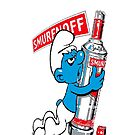 SMURFS LOVE VODKA by HYPERSNAKE