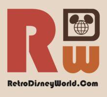 Retro Disney World Site Shirt by aerojt