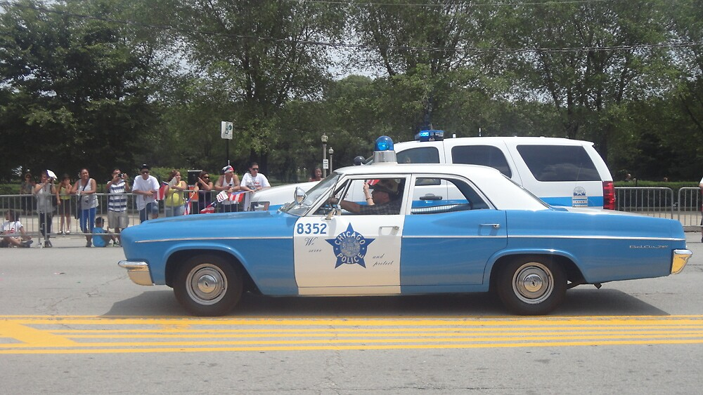 Old Police Car by Nancy Badillo